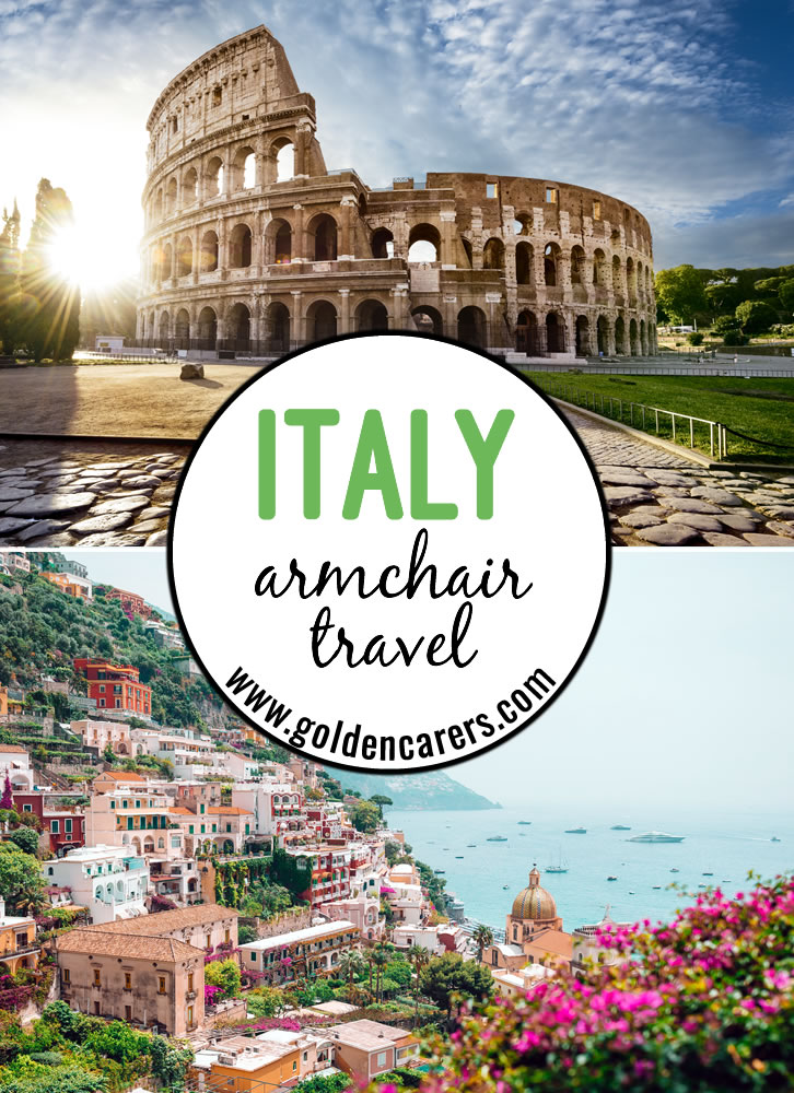 This comprehensive armchair travel activity includes everything you need for a full day of travel to ITALY! Fact files, trivia, quizzes, music, food, posters, craft and so much more! We hope you enjoy the ITALY travelog!