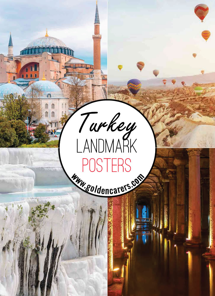 Posters of beautiful Turkish landscapes!