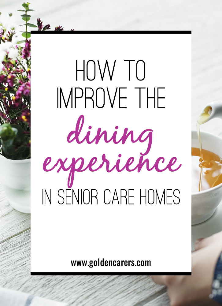 Nutrition can get a bit tricky with age-related complications and conditions. Discover best practices to improve the dining experience for your residents.