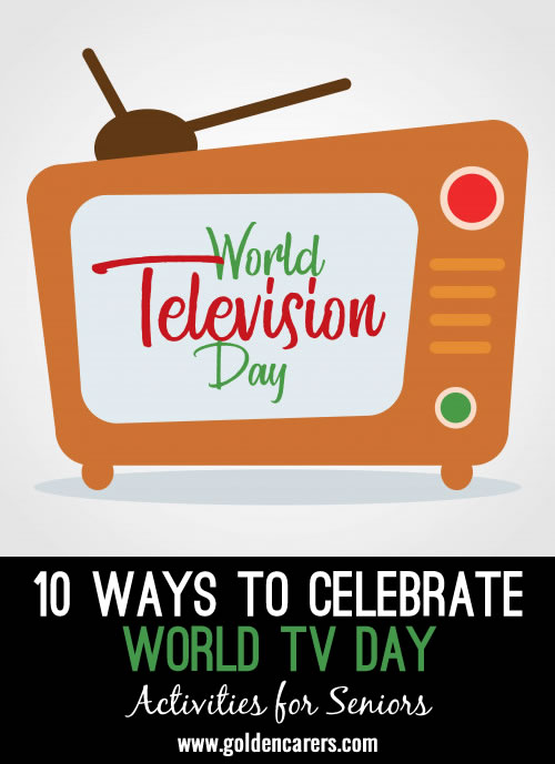 10 Ways to Celebrate World Television Day