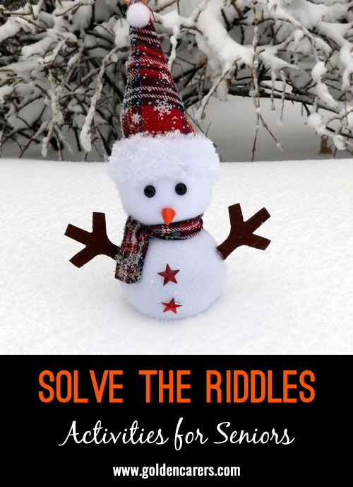 Solve the Riddles #4
