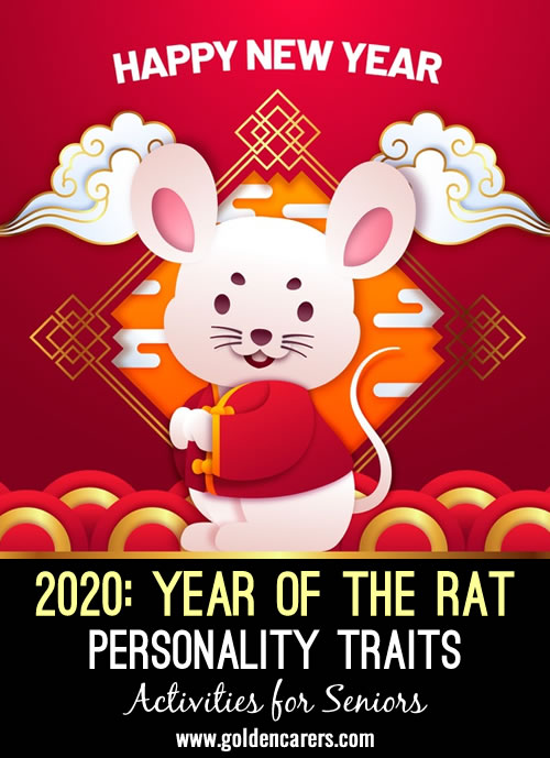 The Chinese New Year is also called Spring Festival and dates back 4,000 years. 2020 is a year of the Rat.