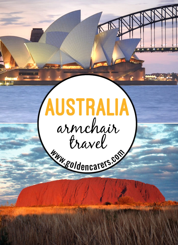 This comprehensive armchair travel activity includes everything you need for a full day of travel to AUSTRALIA! Fact files, trivia, quizzes, music, food, posters, craft and so much more! We hope you enjoy the AUSTRALIA travelog!