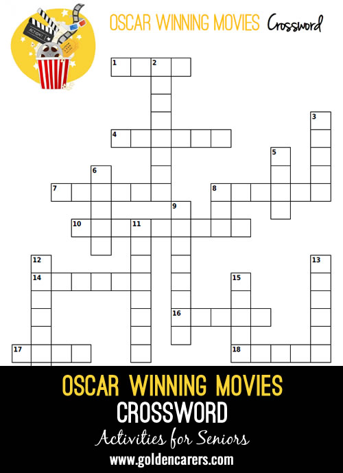 Filling in the missing words of these famous Oscar-winning Movie Titles from yesteryear!