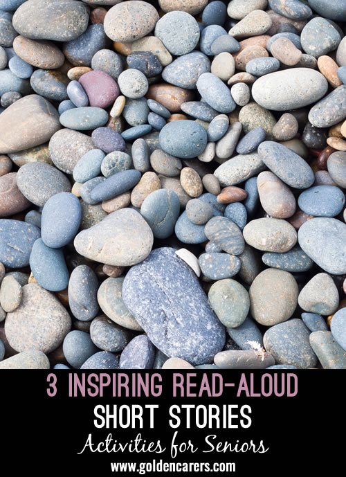 Here are 3 inspirational read-aloud short stories to share!