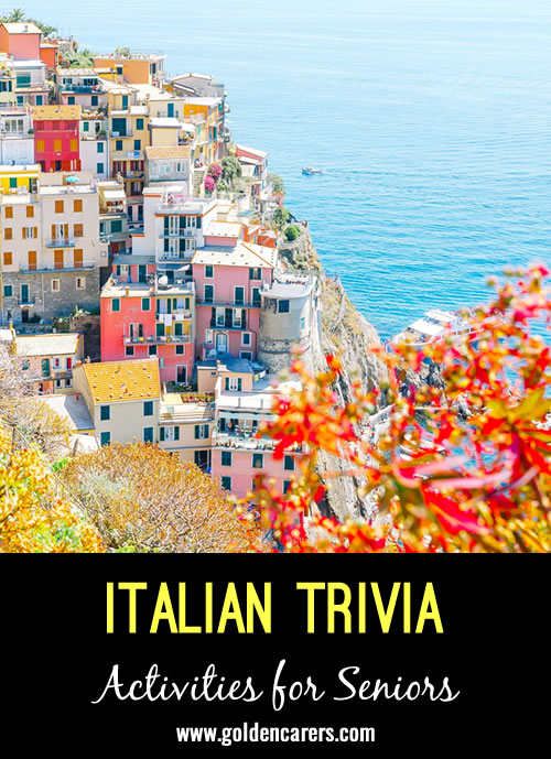 Here are some fascinating facts about Italy!