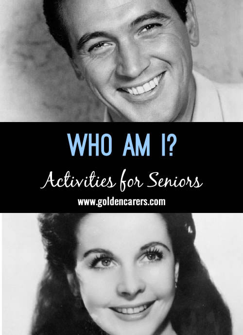 Who Am I? November Birthdays
