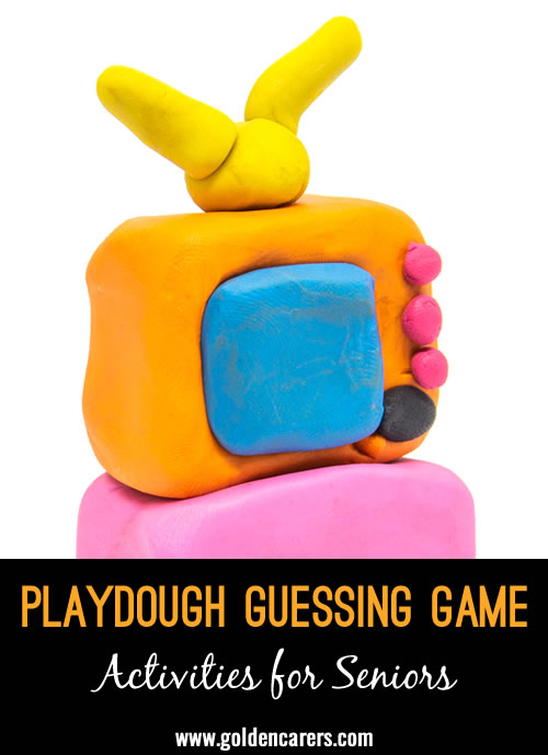 A funny and engaging game you can play with playdough and a little imagination!Thanks Christine for this fabulous idea!