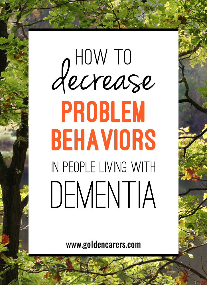 Working with people living with dementia, especially those with problem behaviors, can be challenging. How can you make the best of any situation?