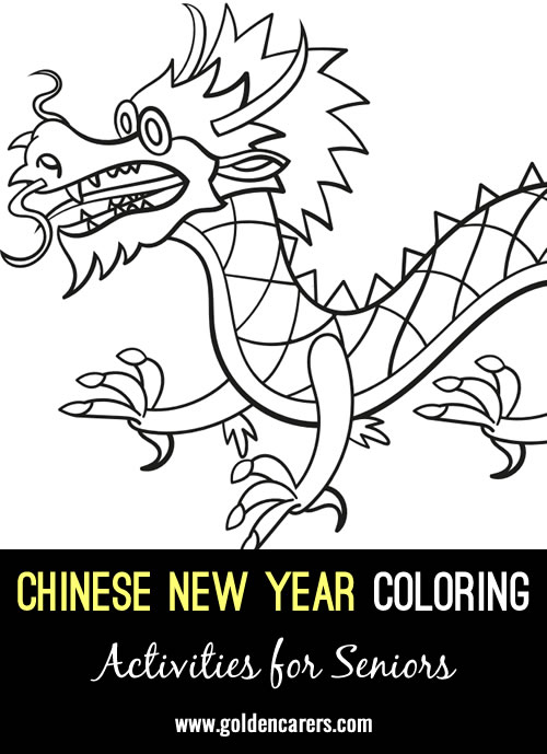 Chinese New Year Coloring