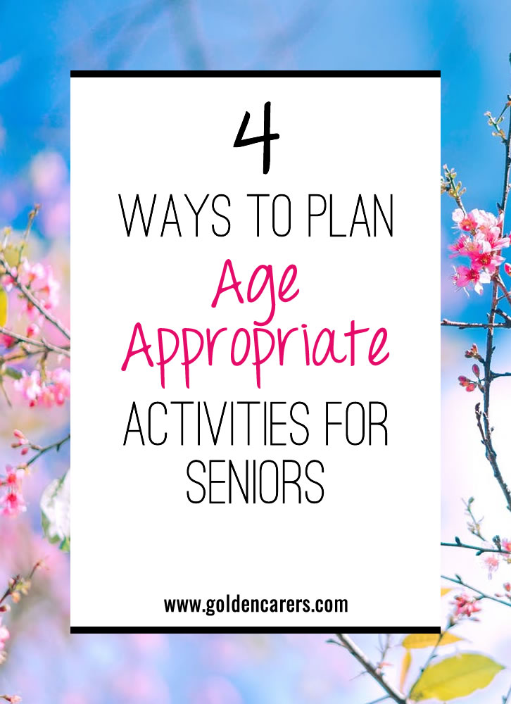 Developing an activities calendar that is age-appropriate for residents is so important. In this article we examples of how you can adapt activities that are often considered 'childish' to ensure they are age-appropriate.