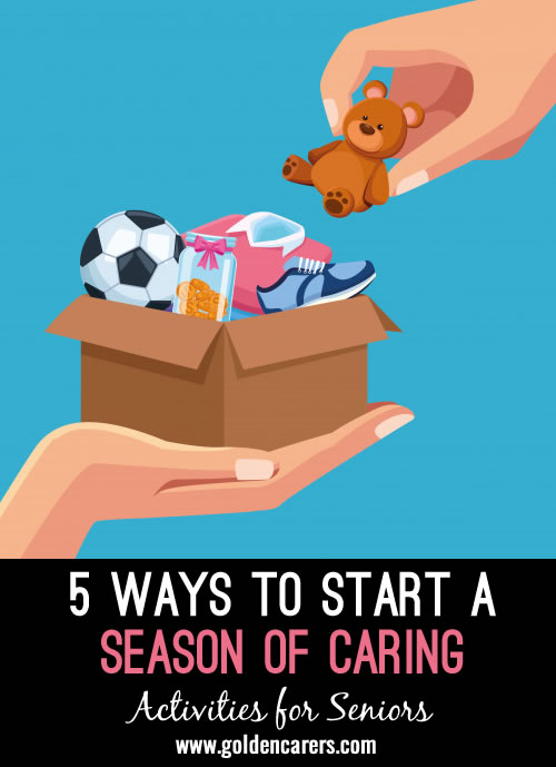 Any time a season changes, it's a great time to refresh your activity program. Seasonal goals and seasonal programs mean you can try an initiative for 3 months to see how the residents respond to it.