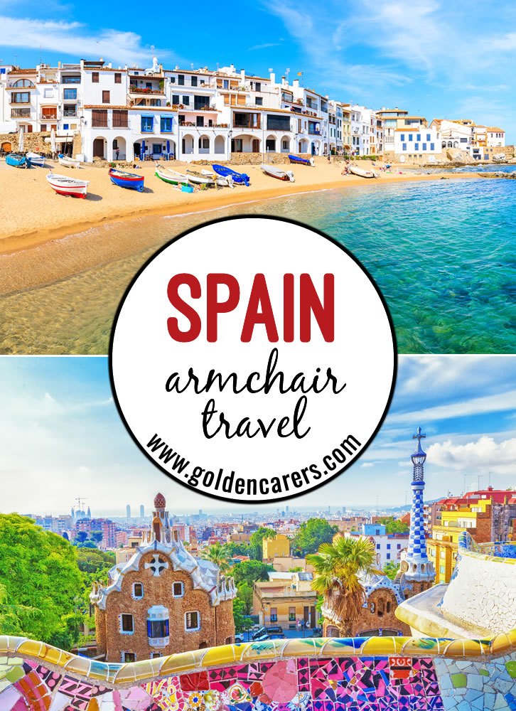 This comprehensive armchair travel activity includes everything you need for a full day of travel to SPAIN! Fact files, trivia, quizzes, music, food, posters, craft and so much more! We hope you enjoy the SPAIN travelog!