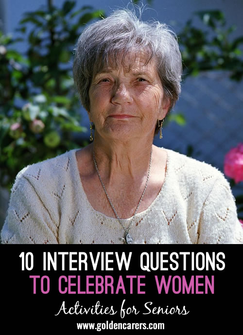 10 Interview Questions to Celebrate Women