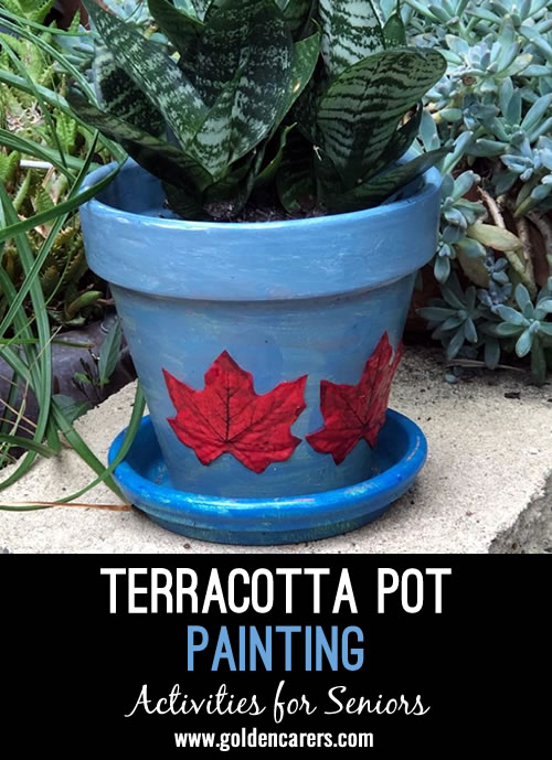 Terracotta Pot Painting