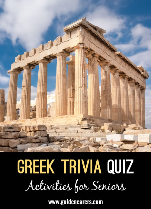 Celebrate the National Day of Greece with a quiz!