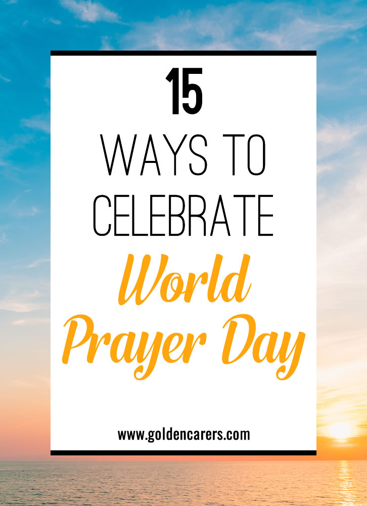 World Day of Prayer is celebrated in 170 countries every year on the first Friday in March. Despite it being a Christian initiative, it welcomes all religious and non-religious people around the world.