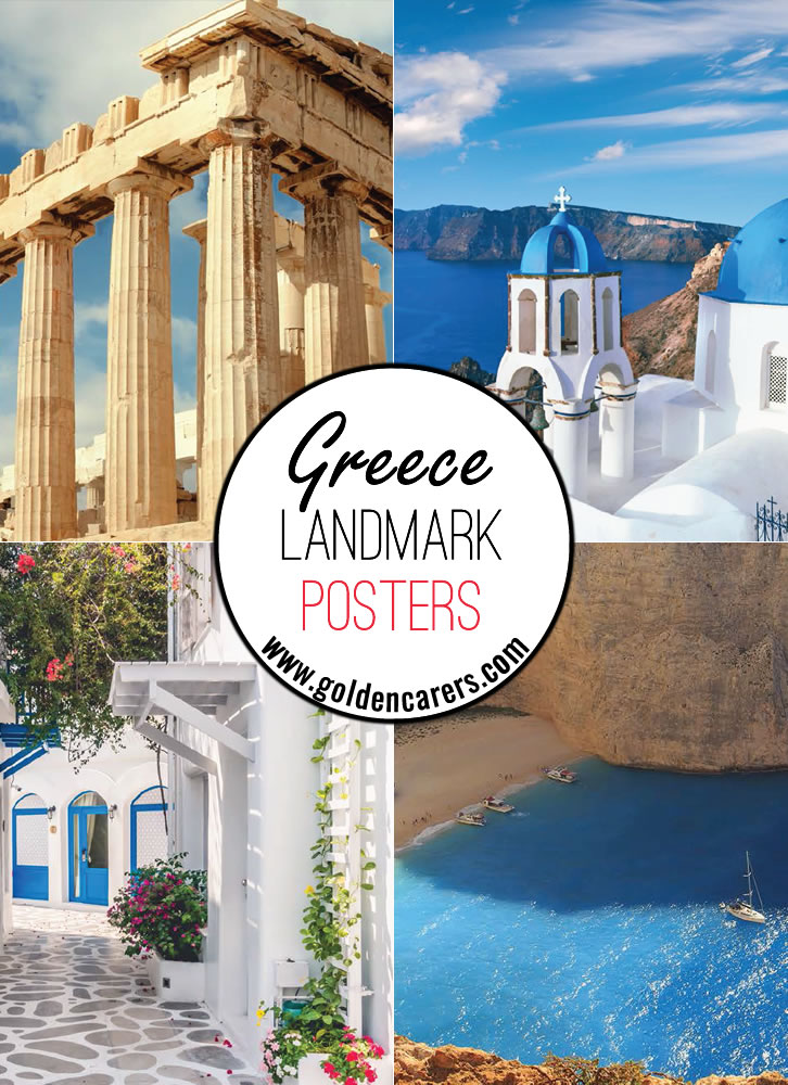 Posters of beautiful Greek landscapes!