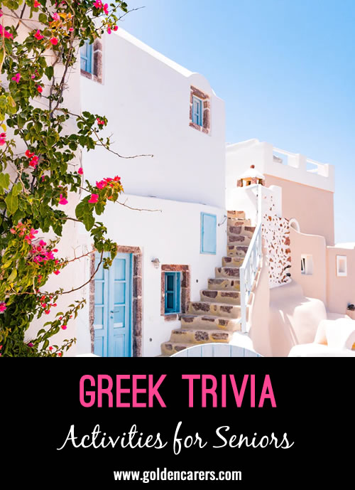 Here are some fascinating facts about Greece!