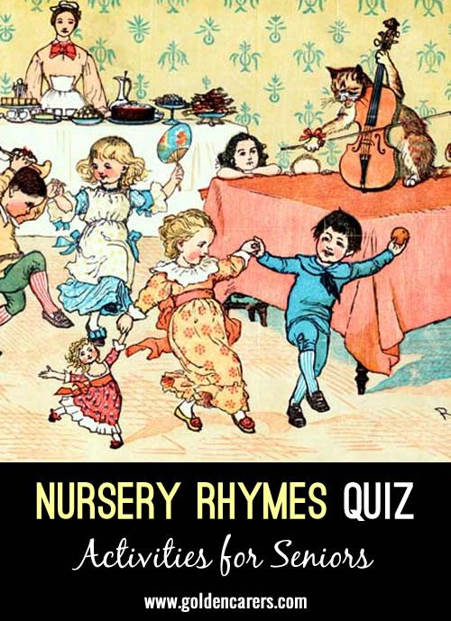 Nursery Rhymes Quiz 4