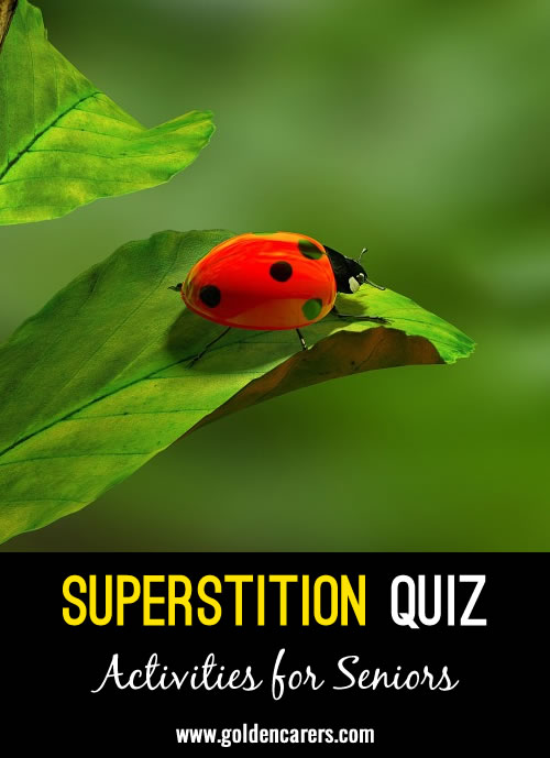 Superstition Quiz