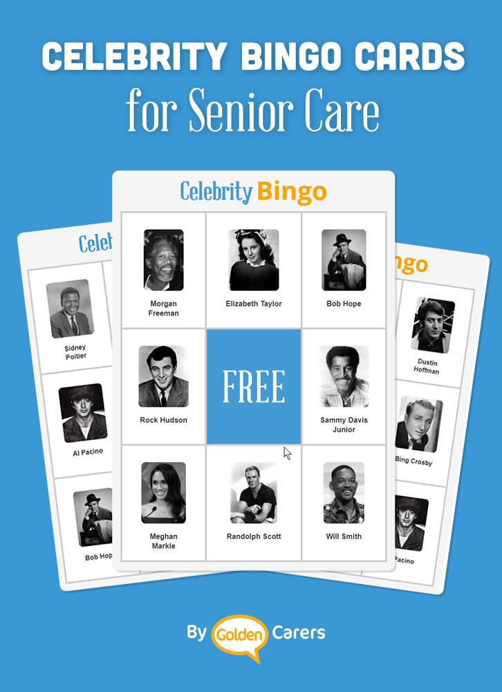 A celebrity bingo game!
