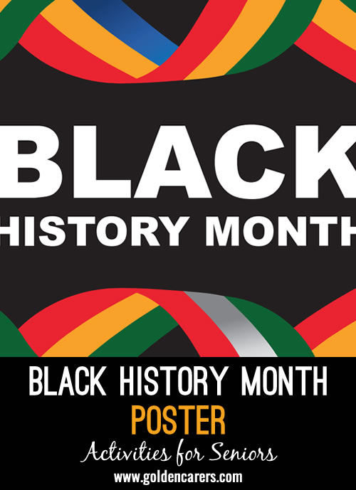 A Poster for Black History Month!