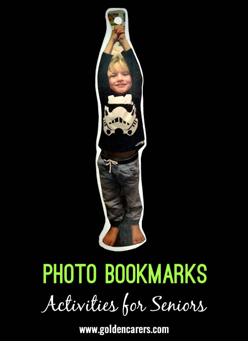 Photo Bookmarks of Children