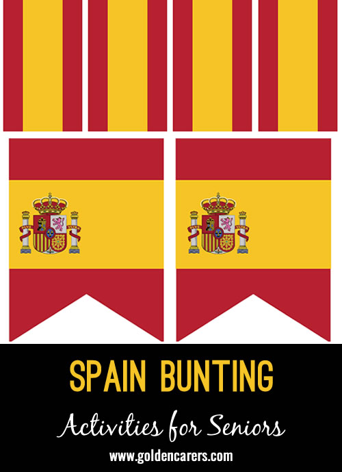 Bunting templates for a Spanish celebration!