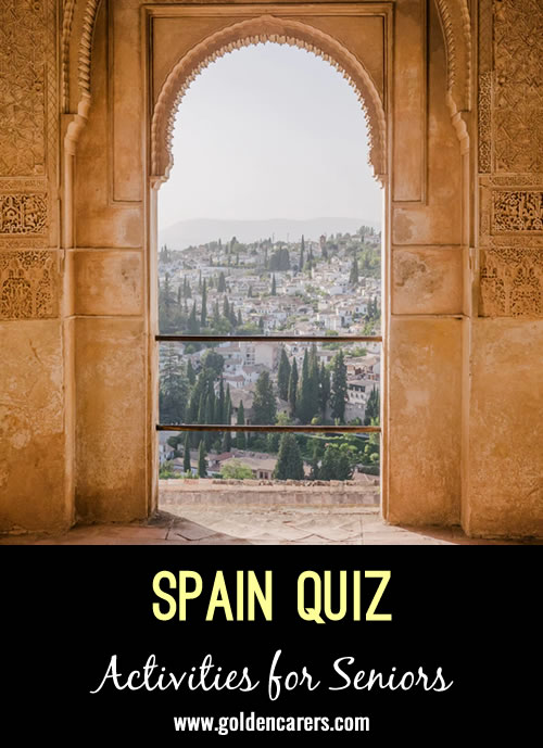 A quiz about the history and culture of Spain!