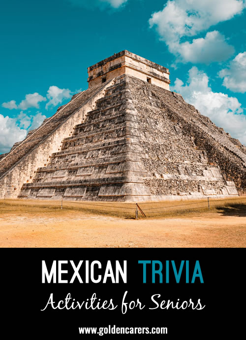 Here are some fascinating facts about Mexico!