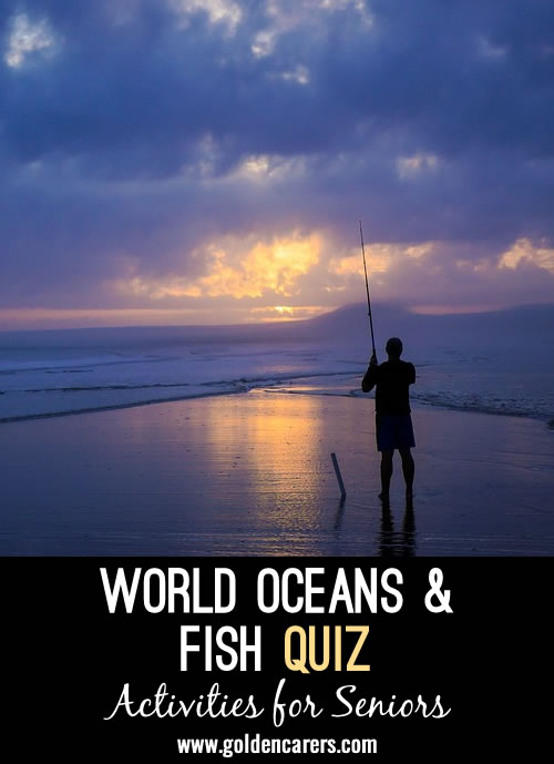 <p>Powerpoint and printable quiz about Oceans and fish!</p>