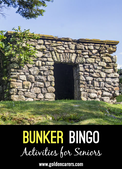 Bunker Bingo