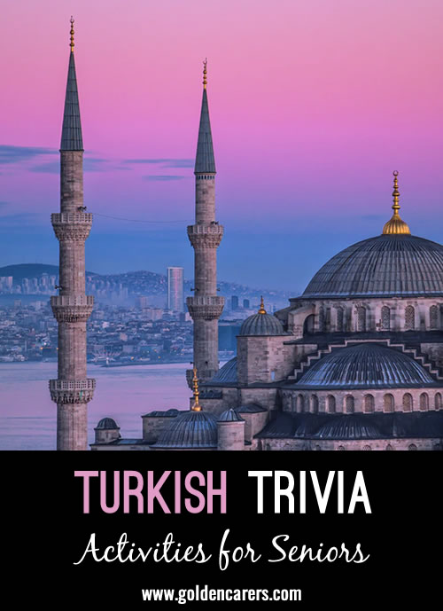 Here are some fascinating facts about Turkey!