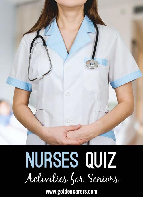 Challenge the nurses on 'International Nurses Day' with this quiz.