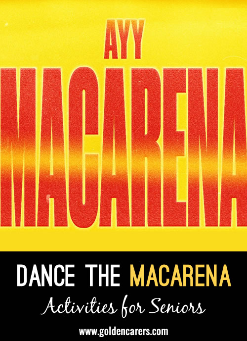 This may seem hard, but do it slowly and you will soon learn it,  and when you feel confident you will be able to do these steps  and DANCE THE MACARENA!