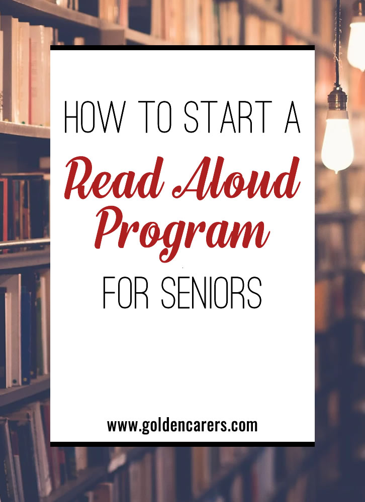 Reading is a popular leisure activity among people of all ages. However, reading aloud is often something we reserve for school-aged children. Learn how making a Read Aloud program can positively impact your residents, staff, and the entire community.