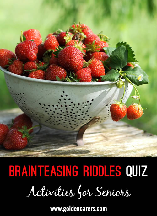 Have fun with these brainteasing riddles!
