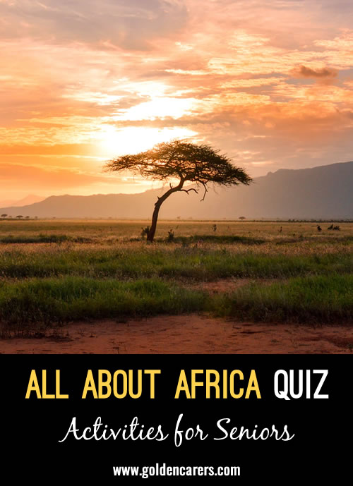 All About Africa Quiz