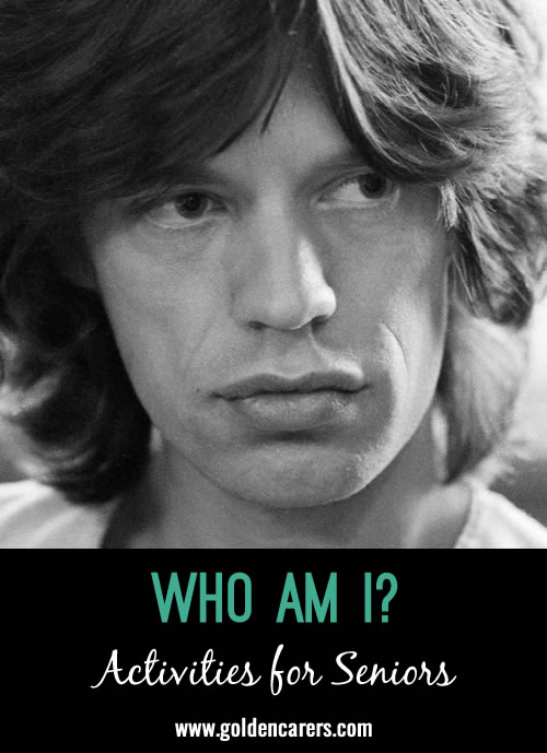 Who Am I? July Birthdays