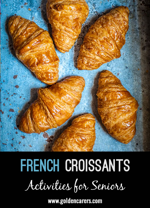 There are many stories about the creation of the French 'croissant', the following is just one of them.