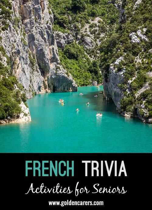 Some interesting French trivia to enjoy on Bastille Day!