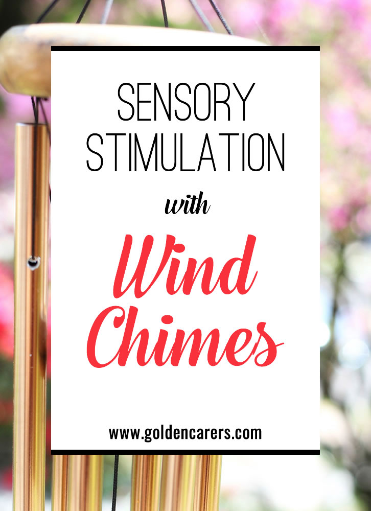 Wind chimes have been known to have a healing effect on the mind; reducing stress and promoting relaxation with their soothing melodies created by the wind.