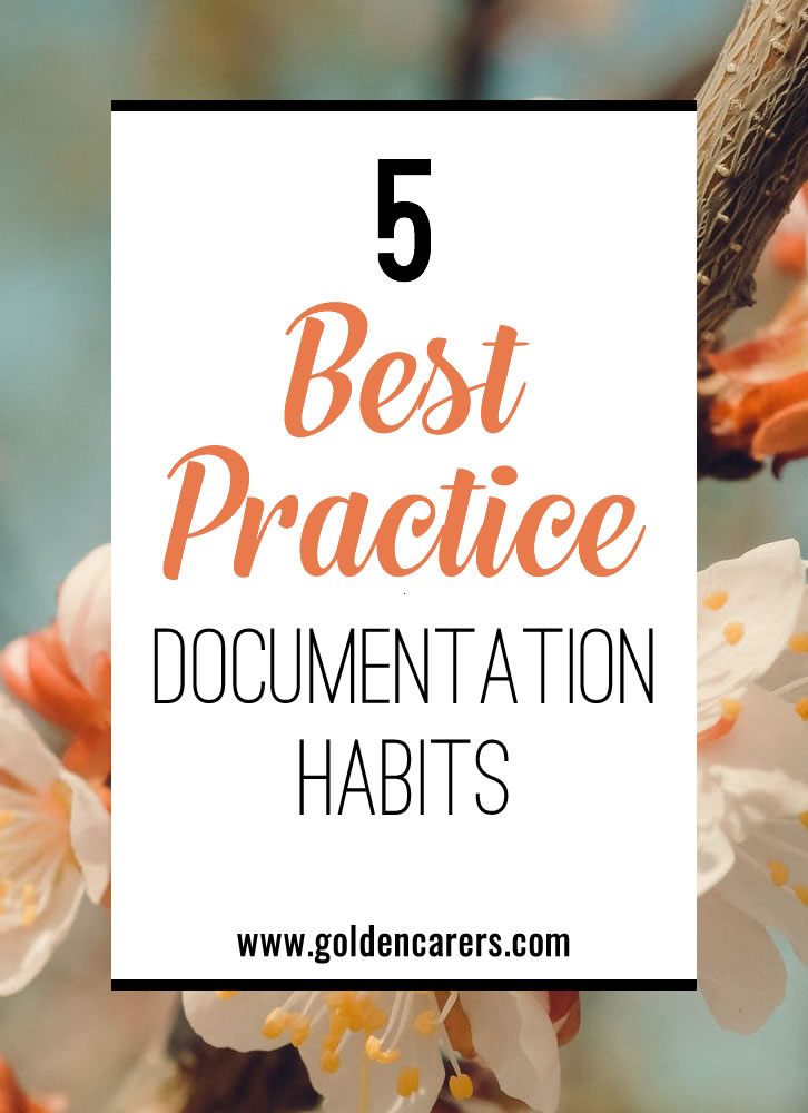 If you didn't document it, it didn't happen. Even if you've only been working in senior care for a few months, you have probably heard this saying.
