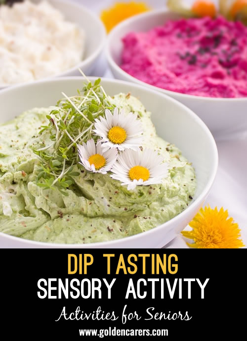 A delicious sensory experience for seniors!