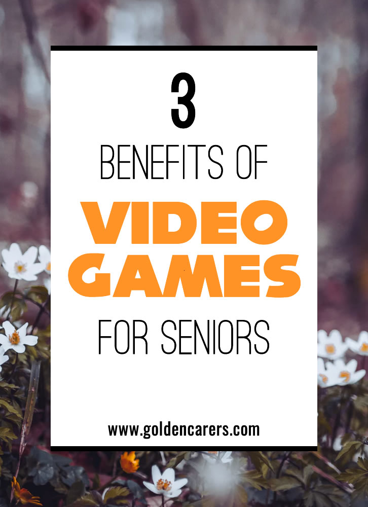 You can install games on all platforms these days, from your phone, computer, laptop, tablet, you can buy dedicated consoles like an xBox, PlayStation, or Nintendo Switch. Some TVs even come with games. Here are 3 positive aspects of gaming for seniors!