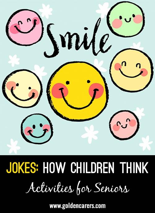 Jokes - Children's Thoughts