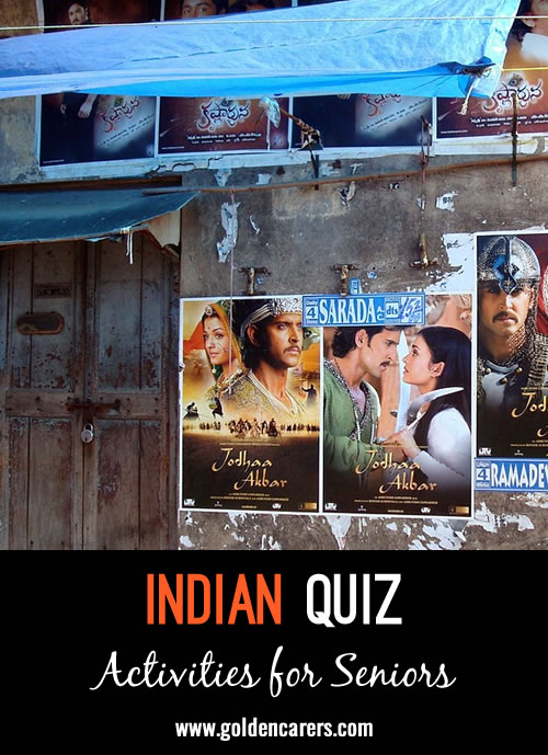 A fun quiz all about India!