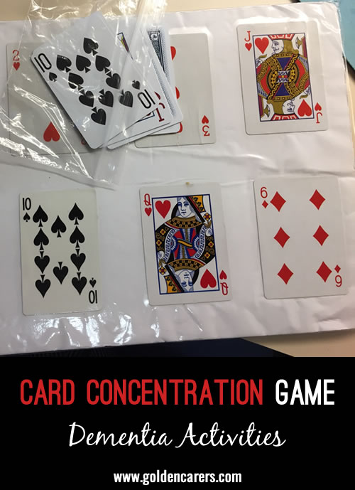 Card Concentration