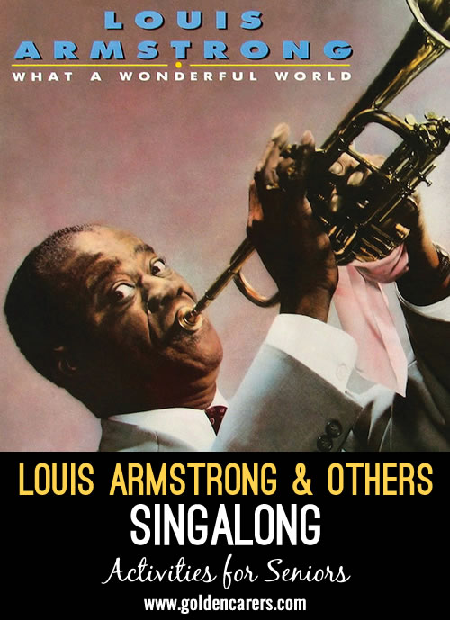Louis Armstrong and Others Sing Along - Instrumental and Song